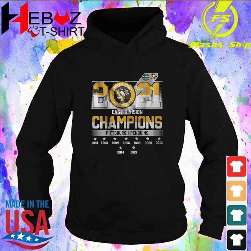 2021 Pittsburgh Penguins east division Champions s hoodie