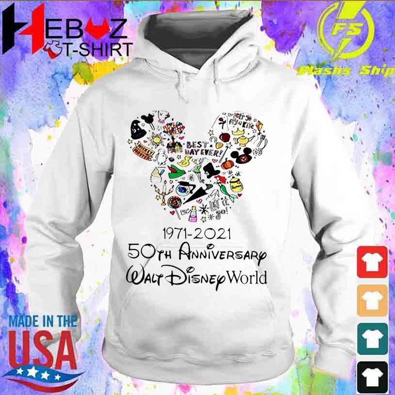 Best Day ever 1971 2021 50TH Anniversary Walt Disney World s hoodie