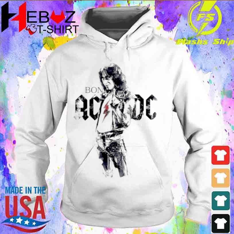 Bon Scott Legend Music AC DC Shirt hoodie
