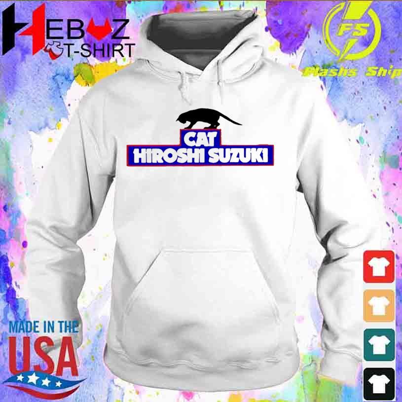 Cat Hiroshi Suzuki Shirt hoodie
