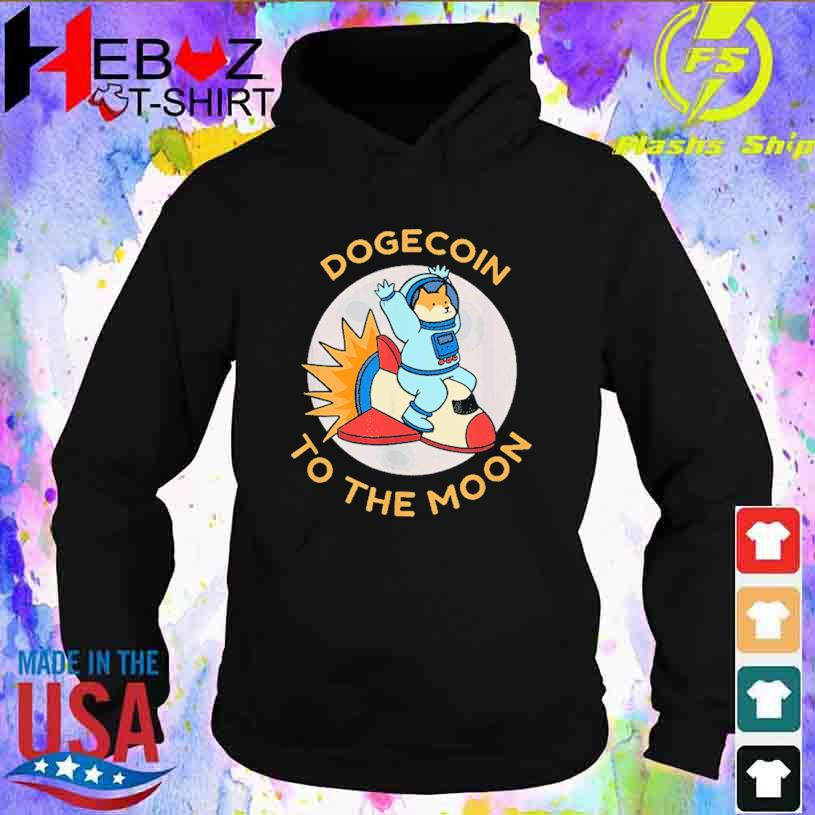 Cryptocurrency Coin Dodgecoin Holder Bitcoin Blockchain Shirt hoodie