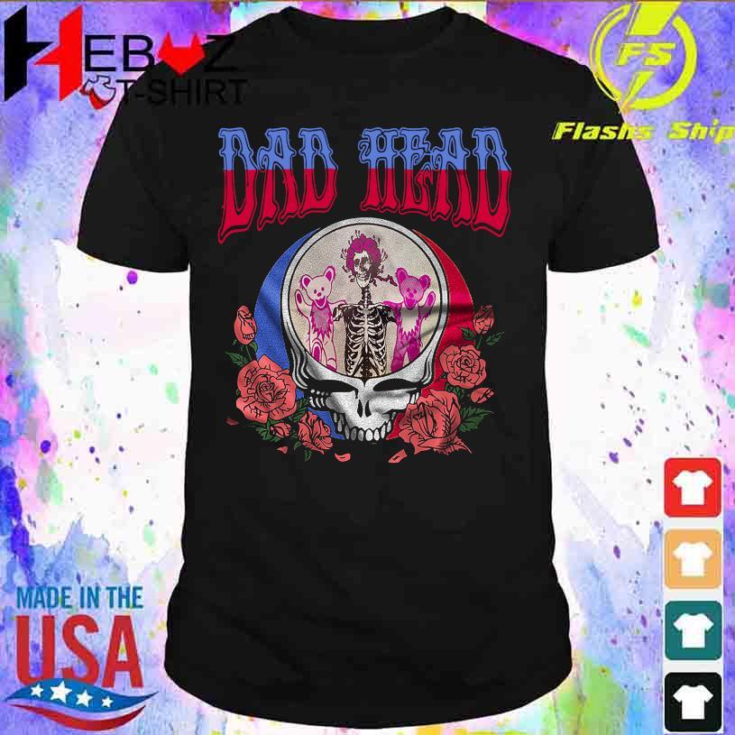 Dad Head Bear and rose shirt