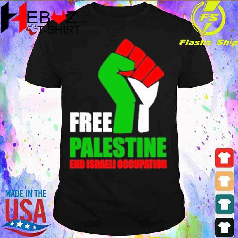 Free Palestine and israeli occupation shirt
