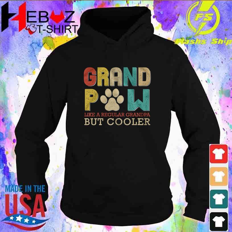 Grand Pow like regular Grandpa But Cooler hoodie