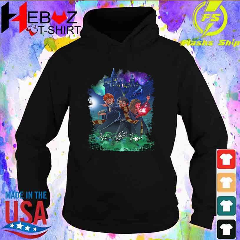 Harry Potter anime signatures s hoodie