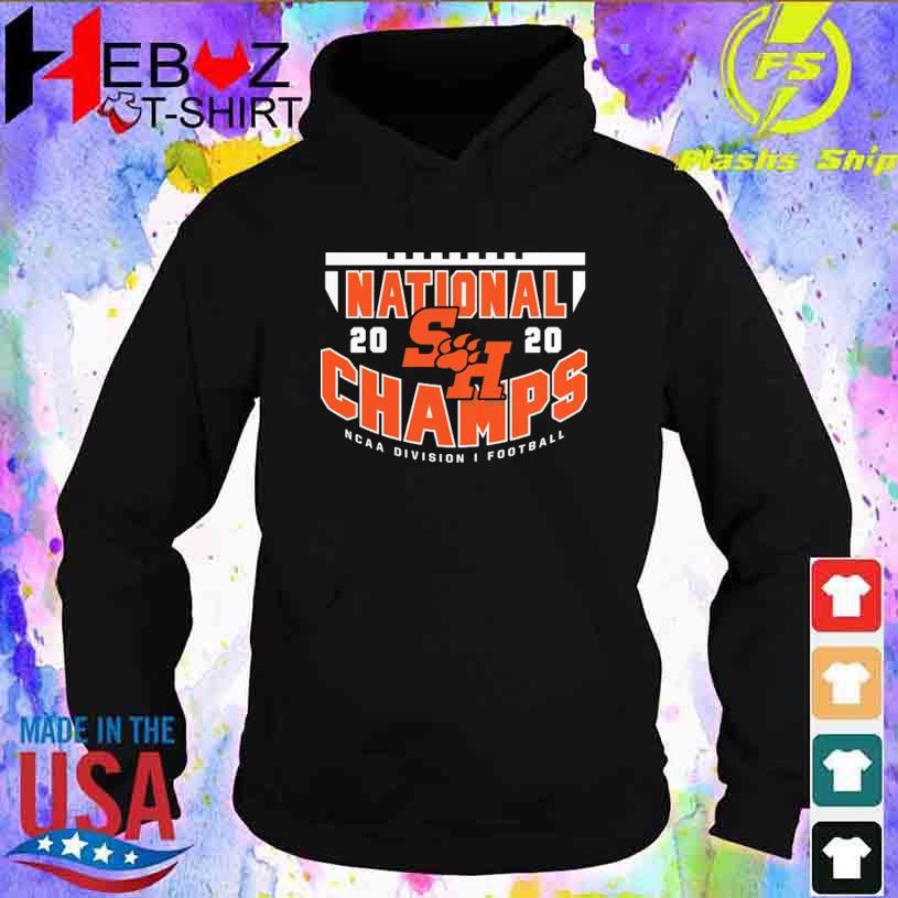2021 Houston State Bearkats FCS Football National Champions Shirt hoodie