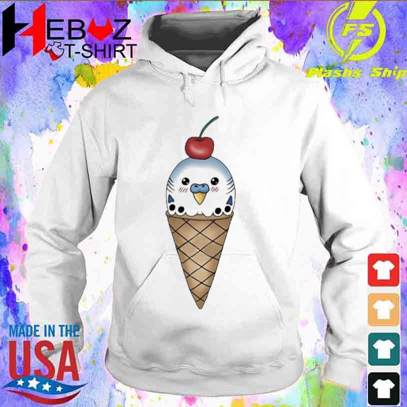 Official Budgie In Ice Cream Cone Shirt hoodie