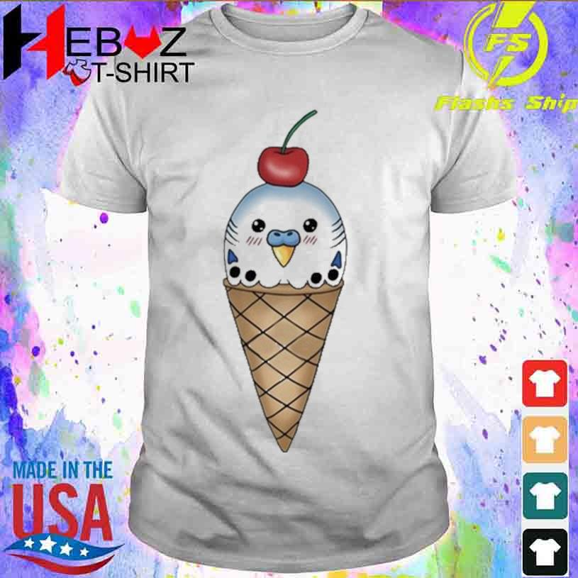 Official Budgie In Ice Cream Cone Shirt