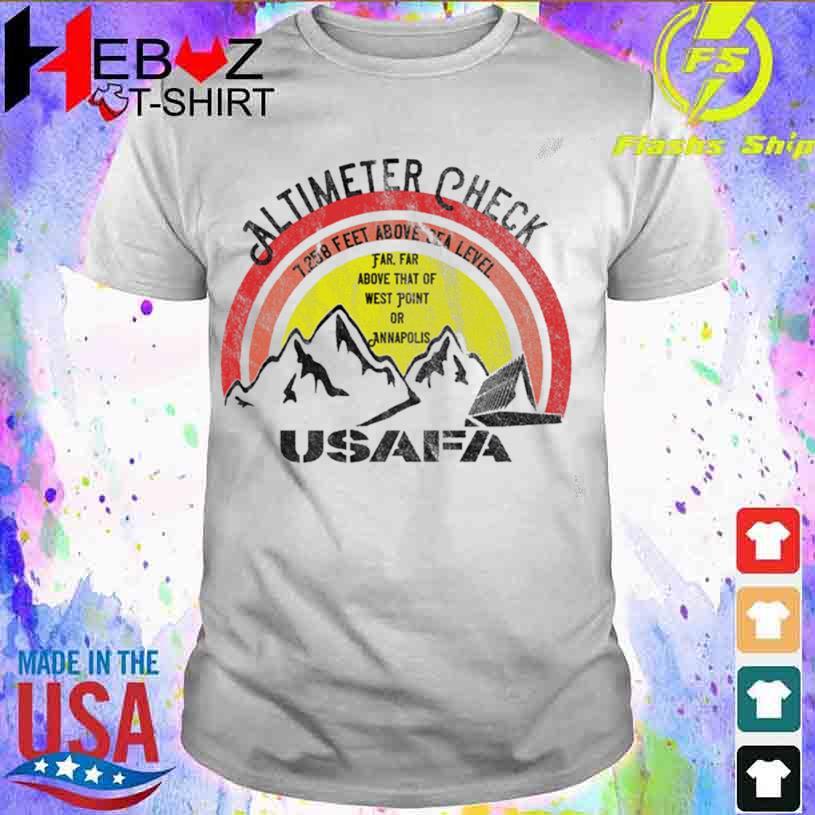 USAFA Altimeter Check at 7258 Feet Shirt